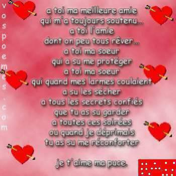 Poeme Damitie
